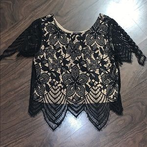 NWOT Express Lace Top